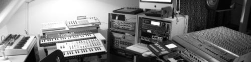 In the studio with Arovane