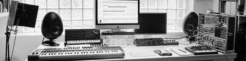 In the studio with Robin Rimbaud