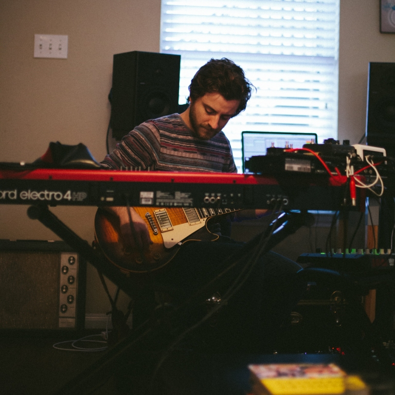 In the studio with Slow Meadow