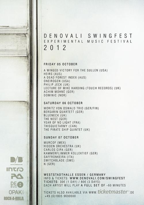 Denovali Swingfest