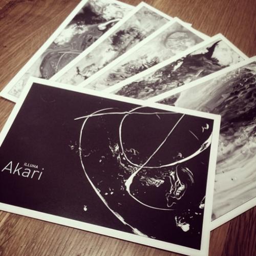 Akari Postcards
