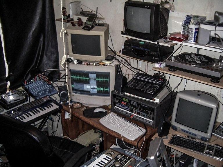 In the studio with Benn Jordan (2004)