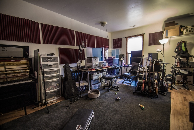 In the studio with Benn Jordan (2013)