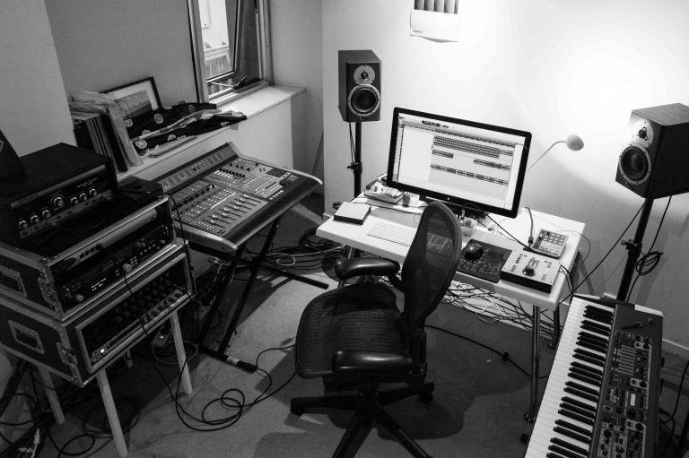 In the studio with Luke Howard (Room)