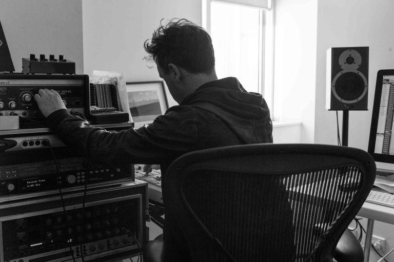 In the studio with Luke Howard