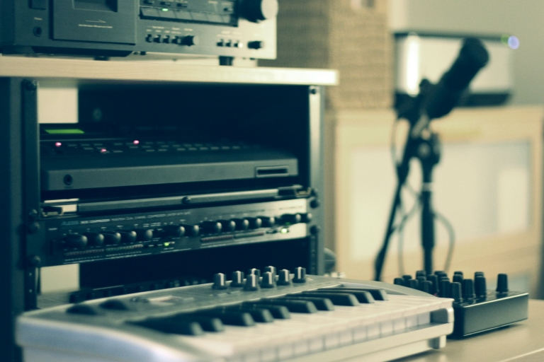 In the studio with Christopher Bissonnette (gear)