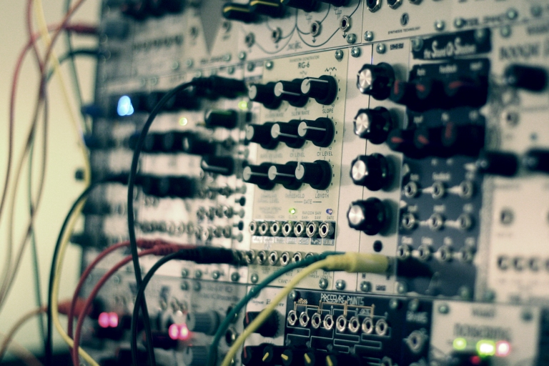 In the studio with Christopher Bissonnette (modular)