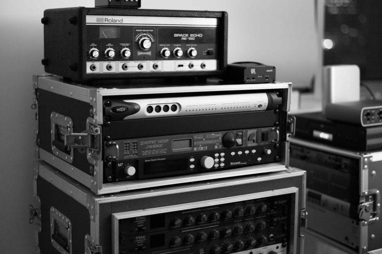 In the studio with Luke Howard (rack)