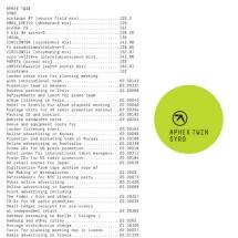 Aphex Twin - Syro - Warp