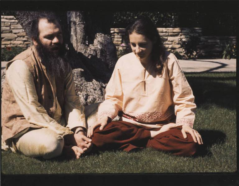 La Monte Young and Marian Zazeela