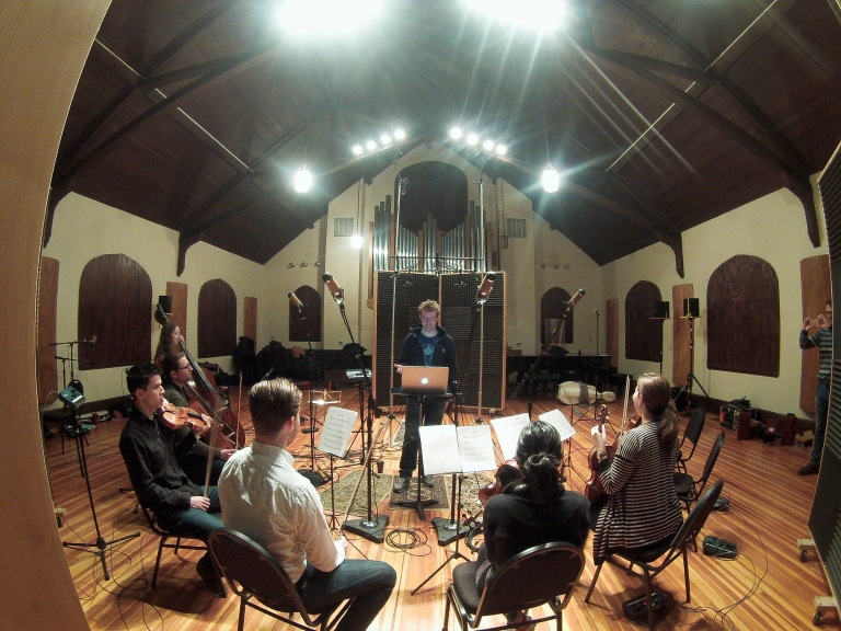 Peter with Inscape Chamber Orchestra