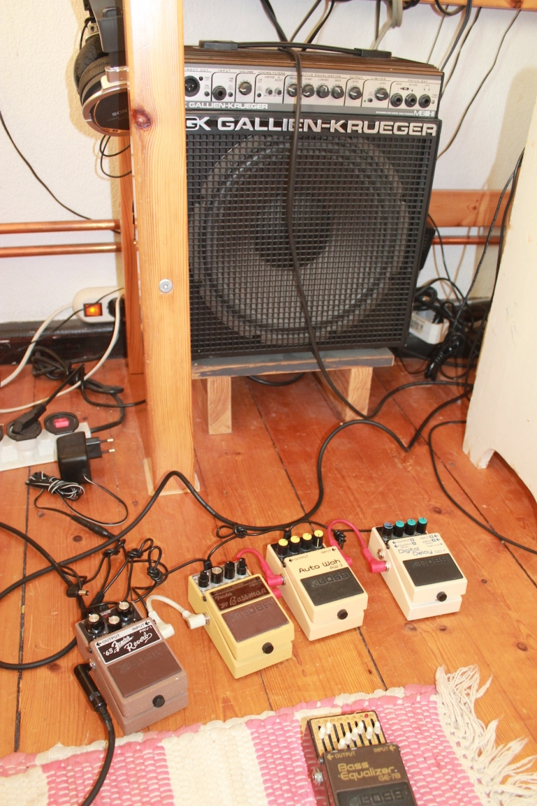 In The Studio With F S Blumm Headphone Commute Guitar Wiring Blog Diagrams And Tips December 2010 After Piece Is Complete How Do You Audition Results What Are Your Reactions To Hearing Music A Different Context Setting